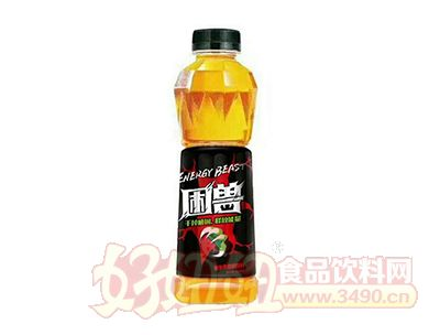 困兽强化维生素功能饮料瓶