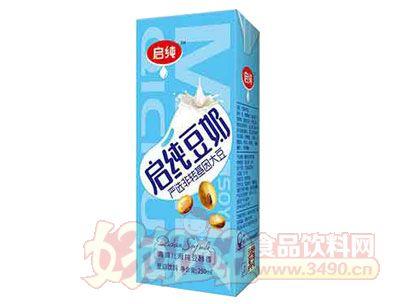 启纯豆奶盒装250ml