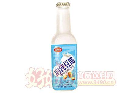 启纯豆奶饮料248ml瓶装