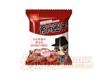 谷部一族爱上圈子巧克力味甜甜圈46g