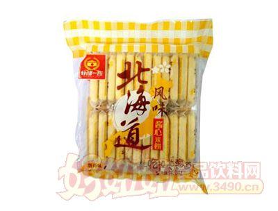 谷部一族蛋黄味北海道酱心米饼