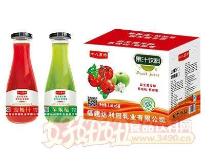 十八果坊果汁饮料1.5L×6瓶(大口瓶)