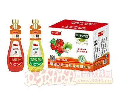 十八果坊果汁饮料1.5L×6瓶