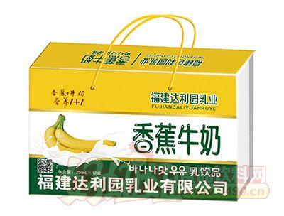 福建达利园香蕉牛奶乳味饮品250ml×12盒