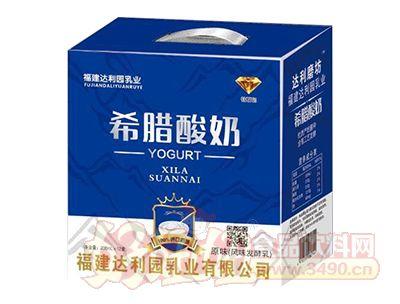 福建达利园原味希腊酸奶发酵乳200ml×12盒
