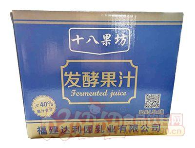 十八果坊益生菌发酵果汁1.5L×6瓶