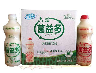 六旺菌益多乳酸菌饮品1.25lx6瓶