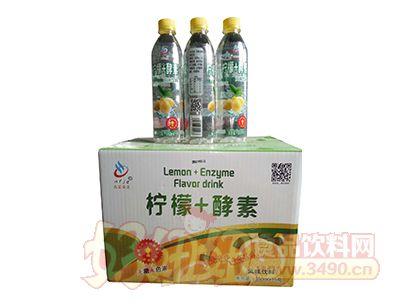 农富金泉柠檬+酵素风味饮料550ml×15瓶