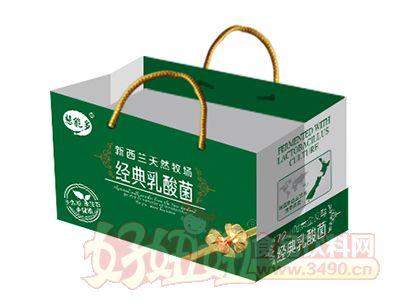 慧能多经典乳酸菌饮品250ml×12包手提袋
