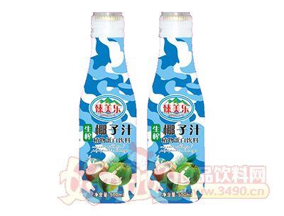 臻美乐生榨椰子汁植物蛋白饮料500ml