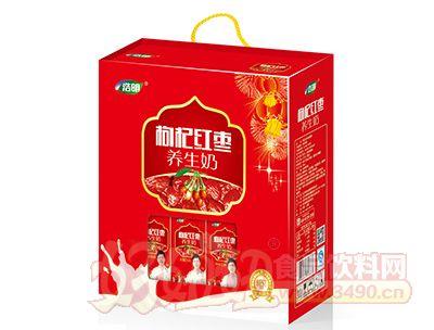 浩明枸杞红枣养生奶礼盒