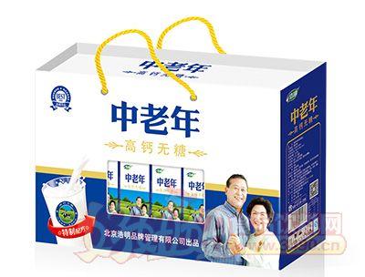 浩明中老年高钙无糖饮品