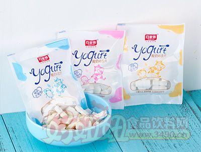 百家赞各种口味酸奶VC含片袋装