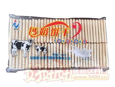 万蓉钙奶饼干500g