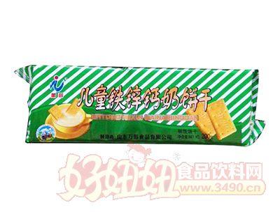 万蓉儿童铁锌钙奶饼干200g