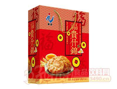 万蓉富贵什锦酥性饼干礼盒