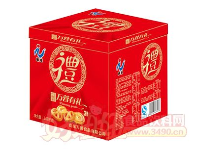 万蓉什锦装饼干1.08kg