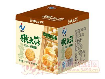 万蓉猴头菇无蔗糖酥性饼干1.08kg