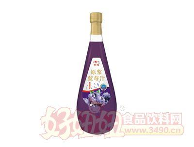 妙缘原浆蓝莓汁饮料1.5L