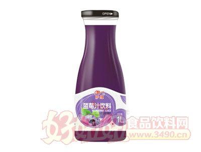 妙缘1L蓝莓汁饮料