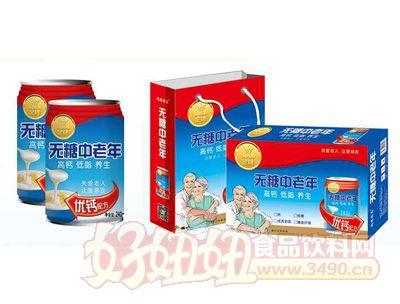 茗赫无糖中老年饮品250mlx16罐
