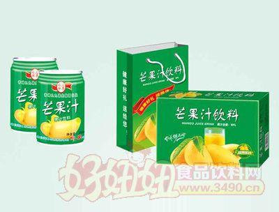 茗赫芒果汁饮料250mlx16罐