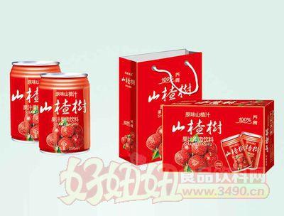 茗赫山楂汁饮料250mlx16罐