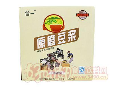 首一原磨豆浆1.25Lx6