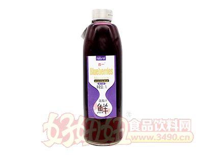 首一鲜蓝莓汁1L