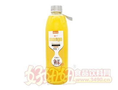 首一鲜芒果汁1L