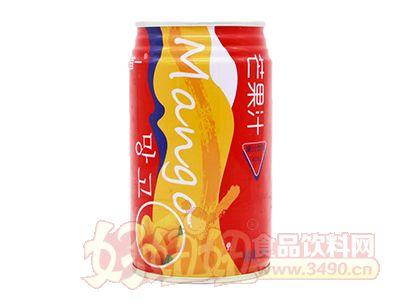 首一芒果汁饮料罐装