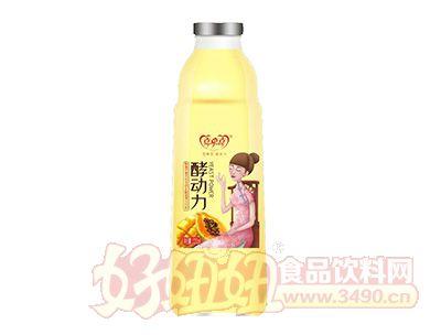喜牵喜酵动力芒果复合果汁饮料1l