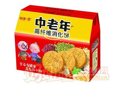 谷部一族中老年高纤维消化饼礼盒装