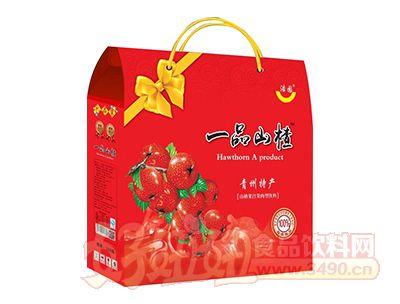 浩园一品山楂果汁果肉饮料礼盒