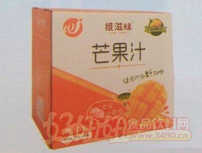 维滋味芒果汁饮料1.5lx6瓶