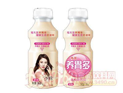 畅饮草莓味乳酸菌饮品340ml