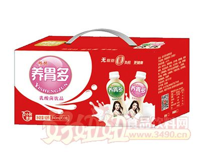 畅饮养胃多乳酸菌饮品340mlx10瓶