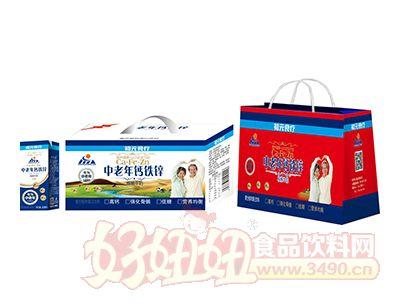 初元食疗中老年钙铁锌核桃牛奶组合