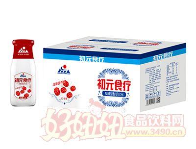 初元食疗红枣味发酵型酸奶饮品