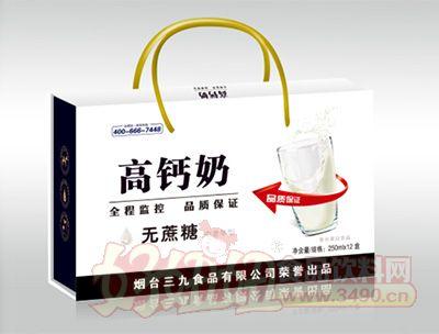 ���_三九�o蔗糖高�}奶250mlx12盒