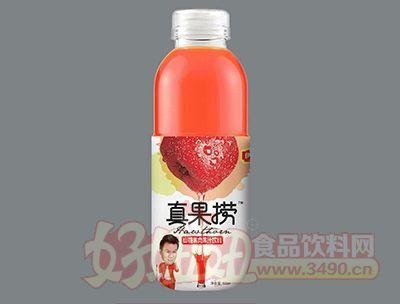 上�凑婀�捞山楂果肉果汁饮料500ml
