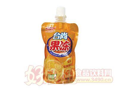 台尚香橙味果粒吸的冻果冻85g
