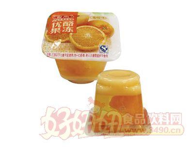 台尚香橙味优酪果冻50g
