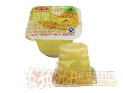台尚菠萝味优酪果冻50g