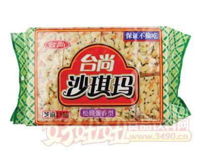 �_尚松脆蛋香型沙琪��芝麻味450g