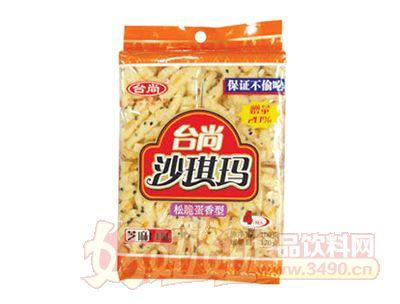 �_尚松脆蛋香型沙琪��芝麻味120g