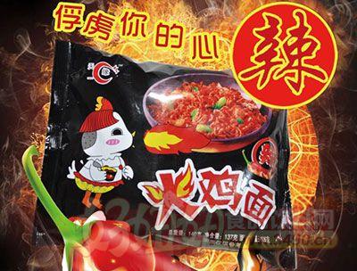 天缘爆辣火鸡面140g