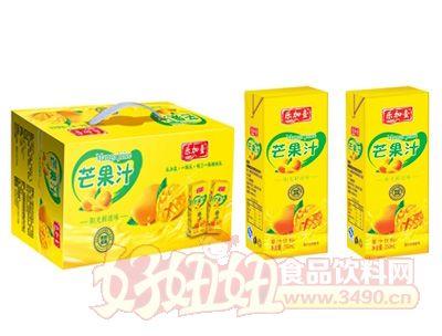 乐加壹芒果汁250ml