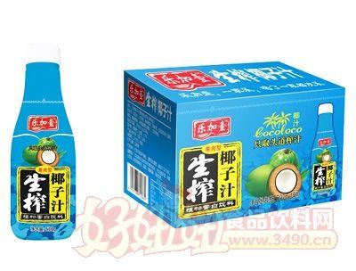 乐加壹生榨椰子汁500g