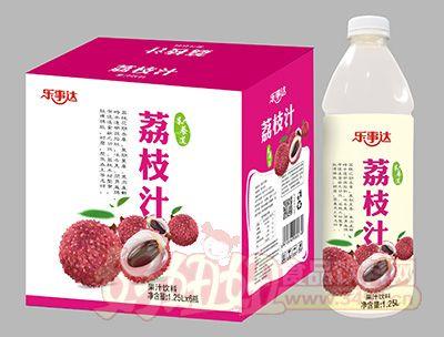 乐事达荔枝果汁1.25Lx6瓶